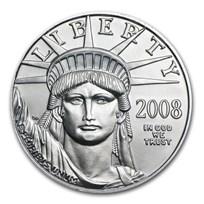 2008 1/10 oz Platinum American Eagle BU
