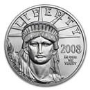 2008 1/2 oz American Platinum Eagle BU