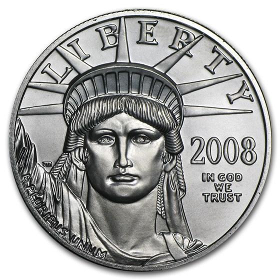 2008 1 oz American Platinum Eagle BU