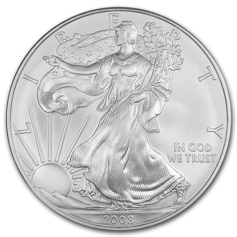 2008 1 oz American Silver Eagle BU