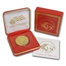 2008 1 oz Gold Buffalo Celebration Coin BU