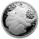 2008 Australia 1/2 oz Silver Koala BU