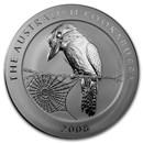 2008 Australia 1 kilo Silver Kookaburra BU