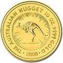 2008 Australia 10 oz Gold Nugget BU