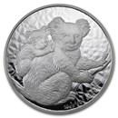 2008 Australia 10 oz Silver Koala BU