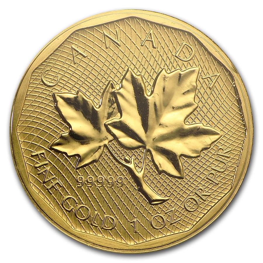 2008 Canada 1 oz Gold Maple Leaf .99999 BU (No Assay)