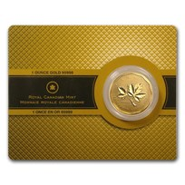 2008 Canada 1 oz Gold Maple Leaf .99999 BU (w/Assay Card)