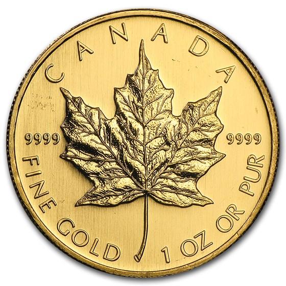 2008 Canada 1 oz Gold Maple Leaf BU