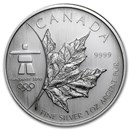 2008 Canada 1 oz Silver Olympic Inukshuk BU