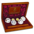 2008 China 6-Coin Gold & Silver Olympic Proof Set (Series II)