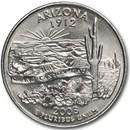 2008-D Arizona State Quarter BU