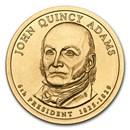 2008-D John Quincy Adams Presidential Dollar BU