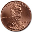 2008 Lincoln Cent BU (Red)