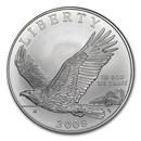 2008-P Bald Eagle $1 Silver Commem BU (w/Box & COA)
