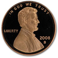 2008-S Lincoln Cent Gem Proof (Red)