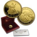 2008-W 1/2 oz Proof Gold Van Buren's Liberty (w/Box & COA)