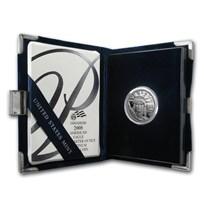 2008-W 1/4 oz Proof American Platinum Eagle (w/Box & COA)