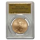 2008-W 1 oz Burnished Gold Eagle MS/SP-70 PCGS (Gold Foil)