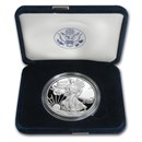 2008-W 1 oz Proof American Silver Eagle (w/Box & COA)