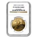 2008-W 1 oz Proof Gold American Eagle PF-70 NGC
