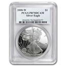 2008-W Proof Silver American Eagle PR-70 PCGS