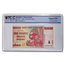 2008 Zimbabwe 100 Million Dollars Grain Elevators Gem-UNC PCGS
