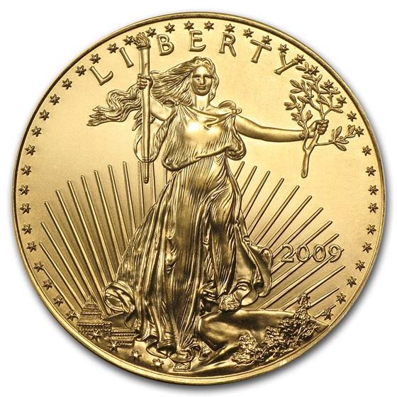 2009 1 oz American Gold Eagle BU