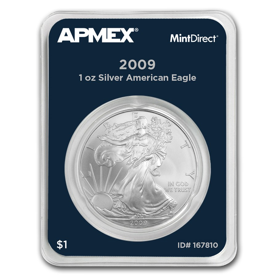 2009 1 oz Silver American Eagle (MintDirect® Single)
