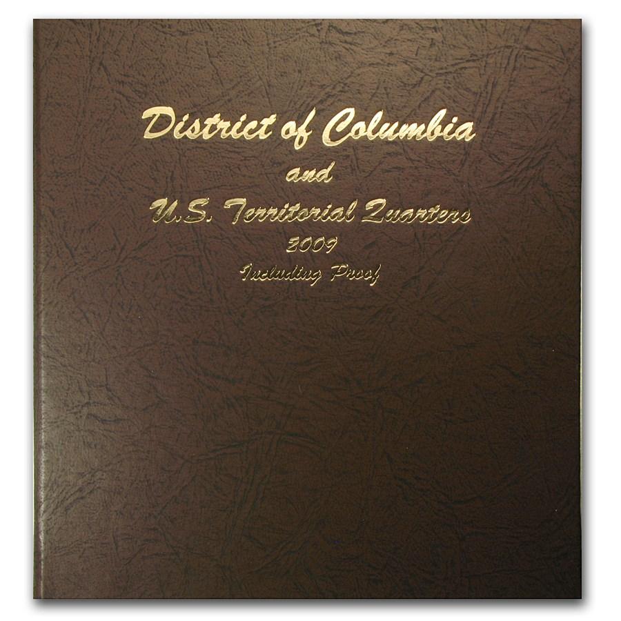 2009 24-Coin District of Columbia & Territorial Quarters Set