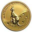 2009 Australia 1/2 oz Gold Kangaroo BU