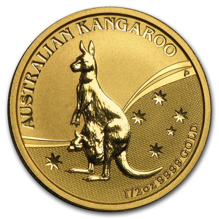 1 oz kangaroo gold coin