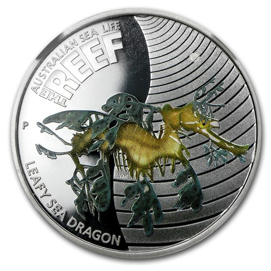 2009 Australia 1/2 oz Silver Leafy Sea Dragon PF-69 NGC