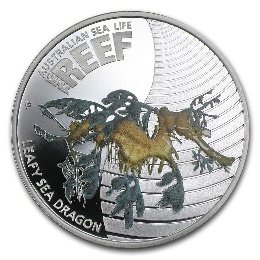 2009 Australia 1/2 oz Silver Leafy Sea Dragon Proof