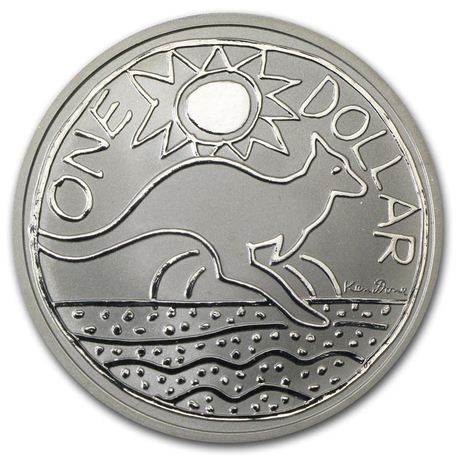 2009 Australia 1 oz Silver Kangaroo