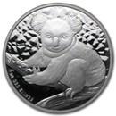 2009 Australia 1 oz Silver Koala BU