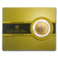 2009 Canada 1 oz Gold Maple Leaf .99999 BU (w/Assay Card)