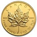 2009 Canada 1 oz Gold Maple Leaf BU