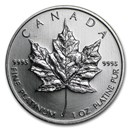 2009 Canada 1 oz Platinum Maple Leaf BU