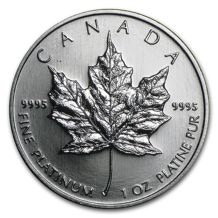 2009 Canada 1 oz Platinum Maple Leaf BU