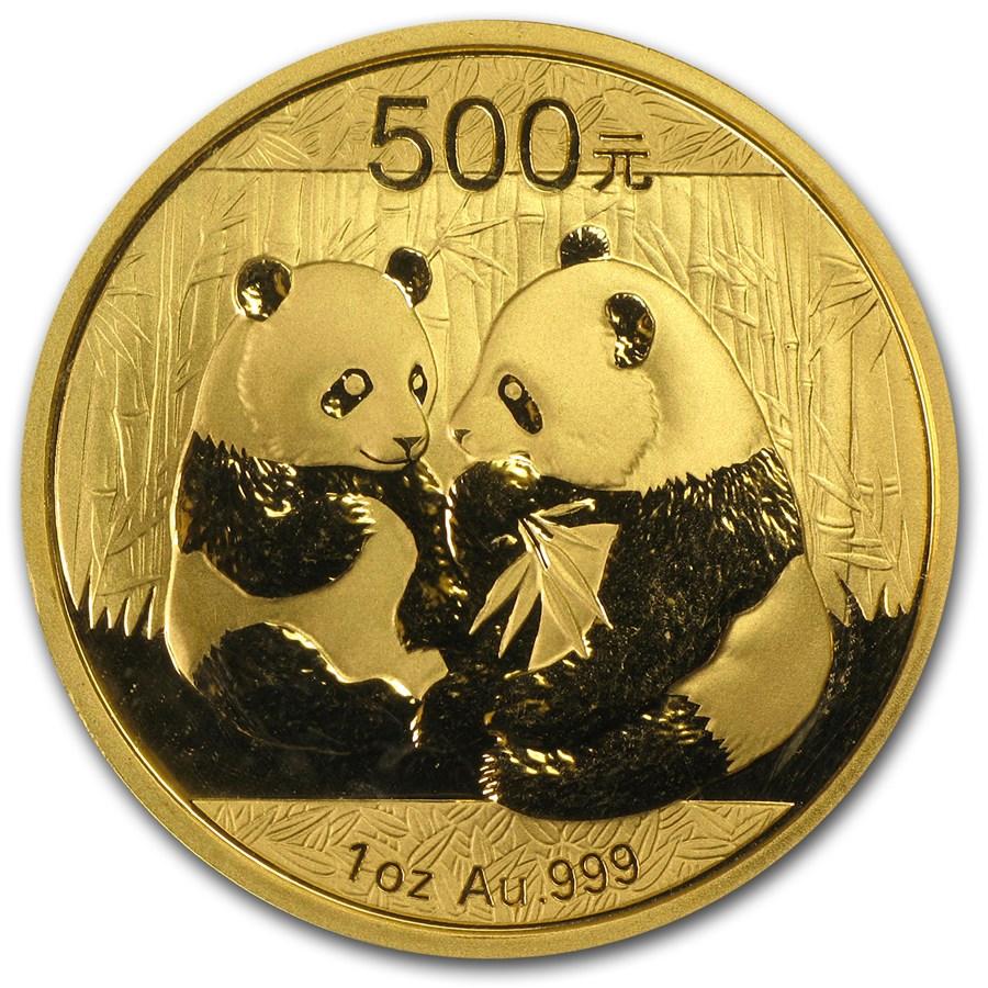 2009 China 1 oz Gold Panda BU (Sealed)