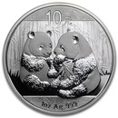 2009 China 1 oz Silver Panda BU (In Capsule)
