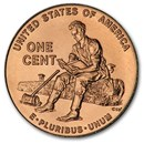 2009-D Lincoln Cent Formative Years BU (Red)