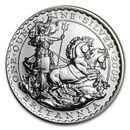 2009 Great Britain 1 oz Silver Britannia BU