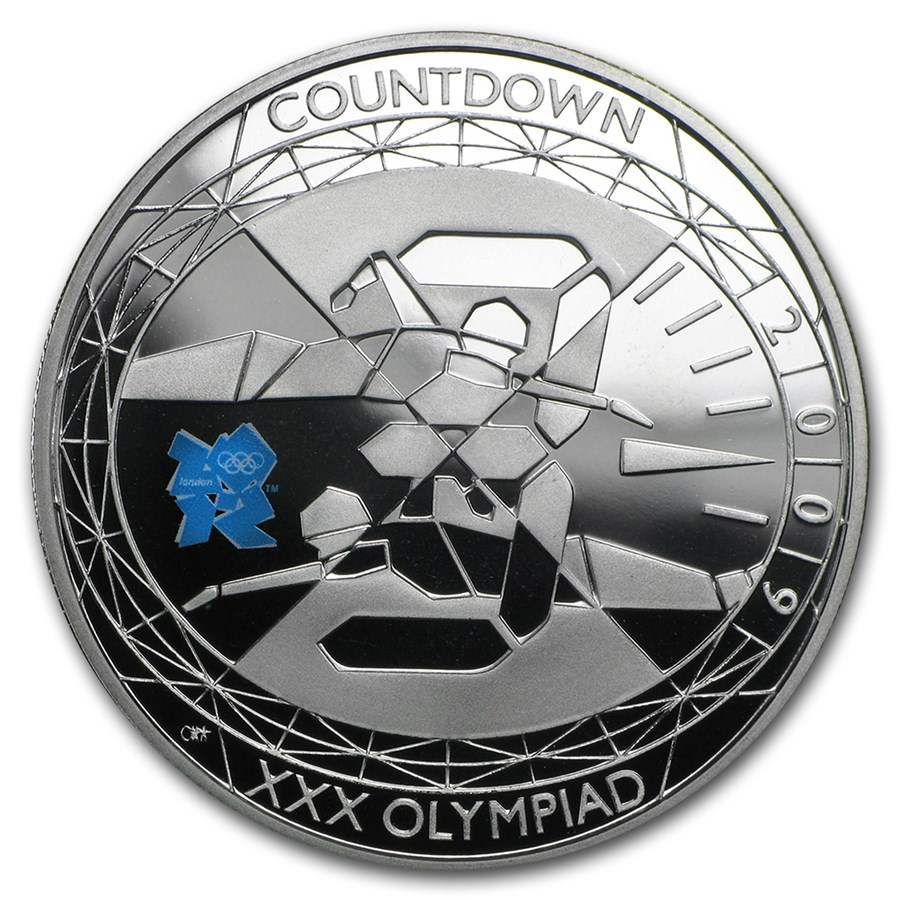 2009 Great Britain Silver Olympic Countdown