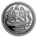 2009 Isle of Man 1 oz Platinum Angel Proof