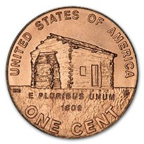 2009 Lincoln Cent Birthplace BU (Red)