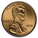 2009 Lincoln Cent Presidency BU (Red)