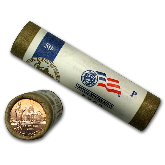 2009 Lincoln Cent Professional (P&D 2 Roll Mint Wrapped Set)