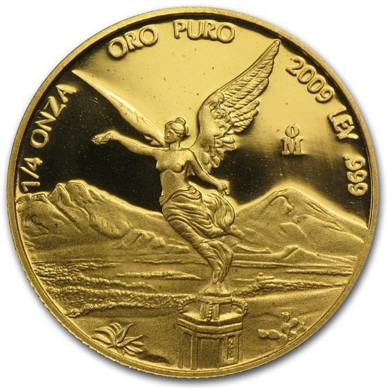 2009 Mexico 1/4 oz Proof Gold Libertad