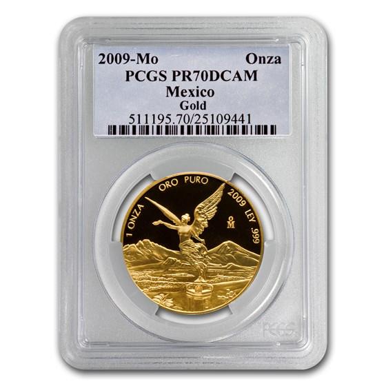 2009 Mexico 1 oz Gold Libertad PR-70 PCGS